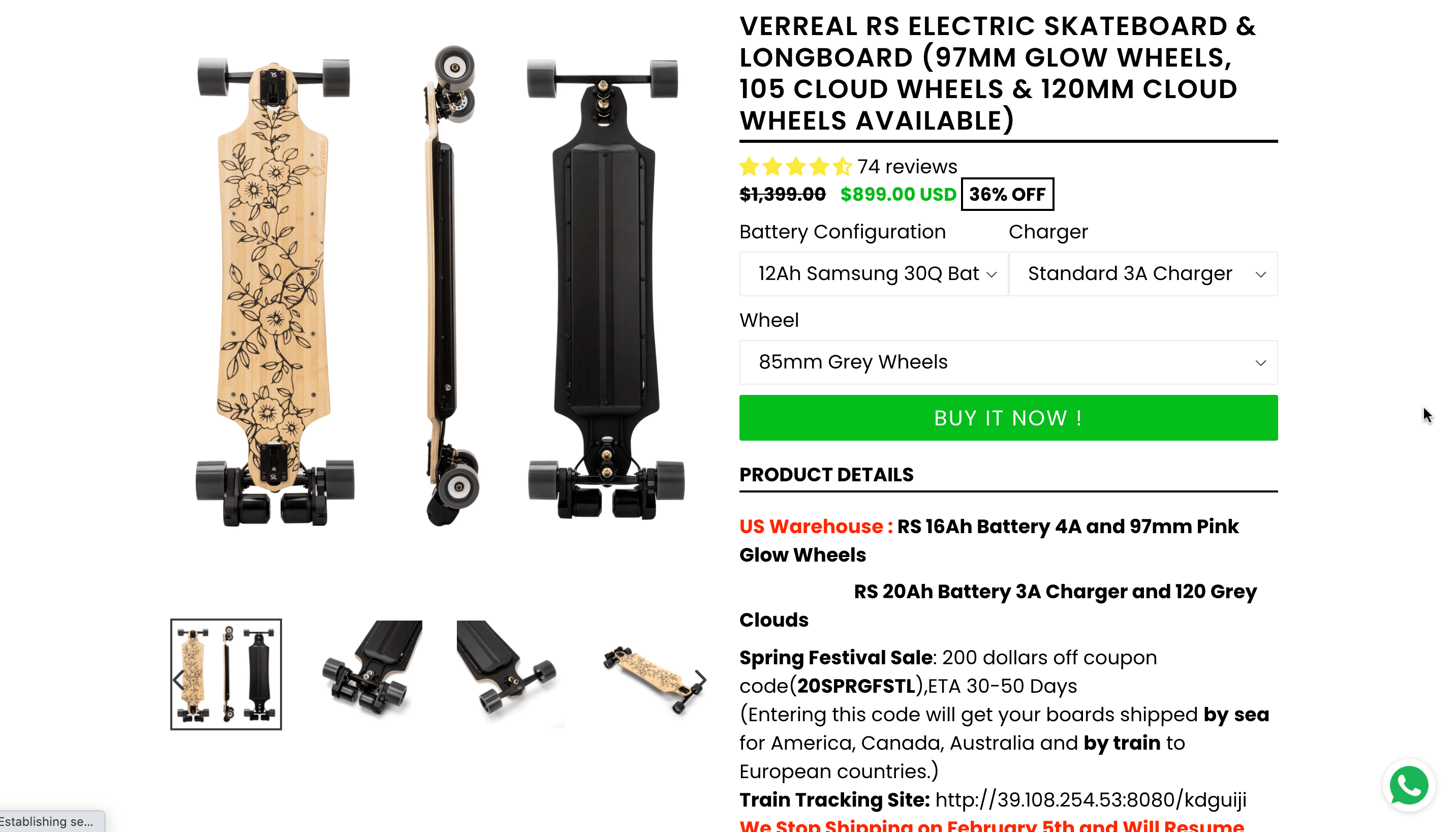 Verreal RS Real Review.
